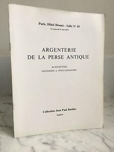 Catalogue Di Vendita Argenteria Della Prese Antico Drouot 27 Mai 1970
