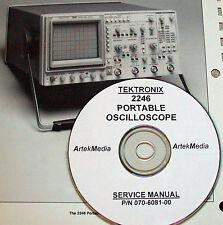 TEK Tektronix 2246 OSCILLOSCOPE SERVICE MANUAL