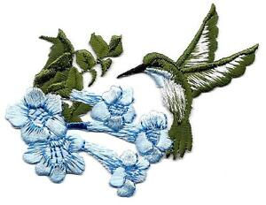 LOON LEFT EMBROIDERED IRON ON APPLIQUE