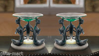 2 Modern Praying Girl Women Wax Tart Warmer Oil Diffuser Candle Holder Burner