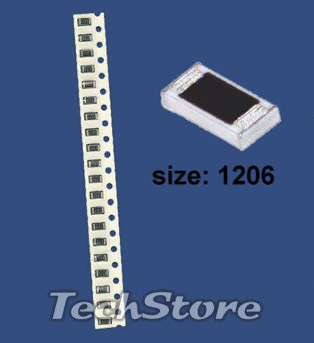 20 Resistenze SMD size 1206 da 3.9 Kohm 1/% 3,2x1,6 mm