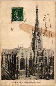 CPA-LILLE-Eglise-Saint-Maurice-663411