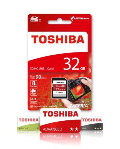Toshiba 32 GB Tarjeta de memoria SD para Canon IXUS 240 HS IXUS 870 IS SX50 HS cámara