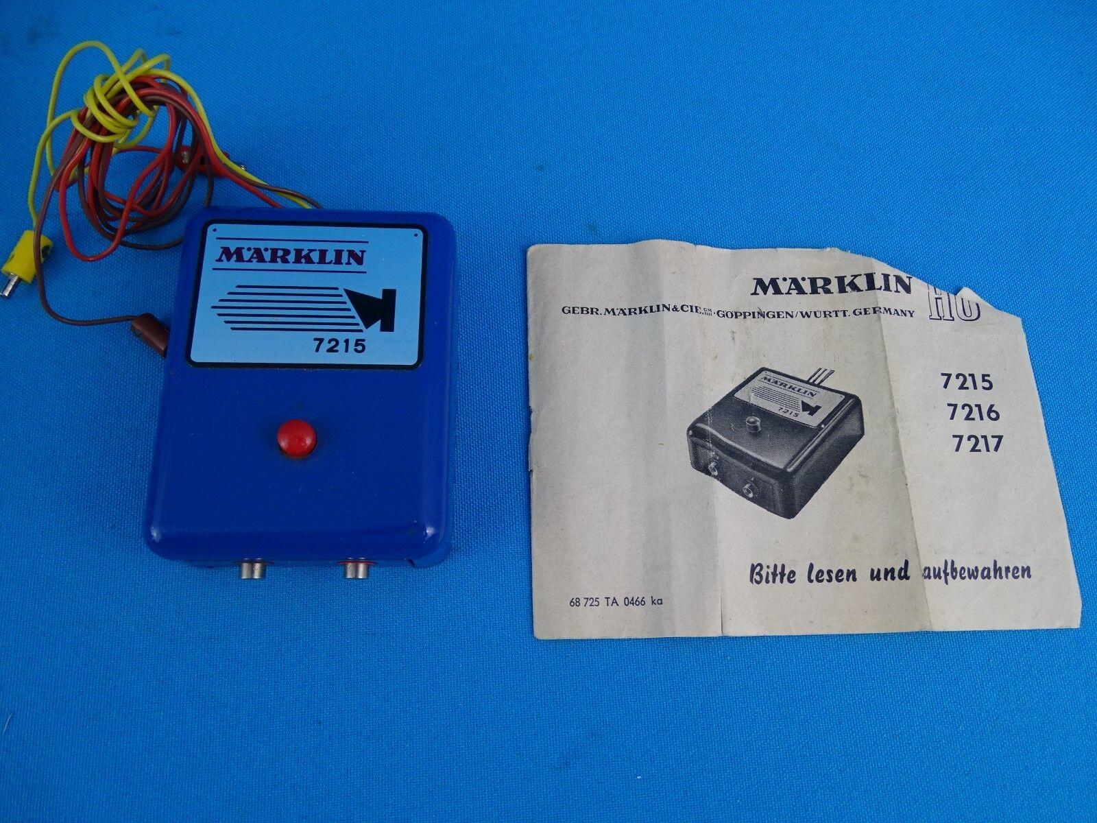 Marklin 7215 Alarm Release 60-ies