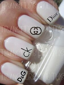 DESIGNER-MODE-LOGOS-30-Stickers-ongles-manucure-nail-art-water-decal
