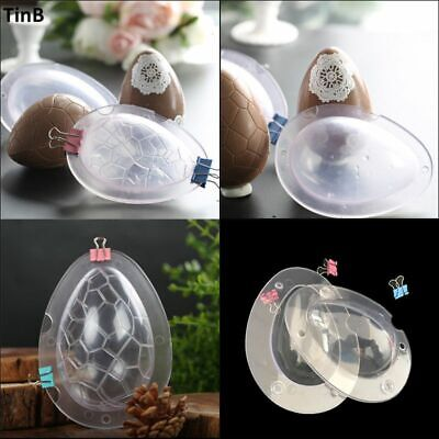Easter Egg Mold for Chocolate Large Size 3D Dinosaur Egg Chocolate Molds Giant Baking Sugar Craft Mold Tool【USA Stock】