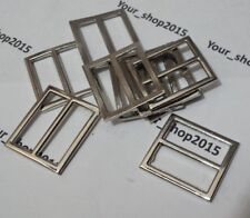 20 X Metal Brass D rings unwelded split curtain  loop  tie back hook ring 25mm