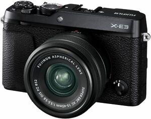FUJIFILM XE-3 Systemkamera Digitalkamera 24,3 MP WLAN Bluetooth schwarz B-WARE