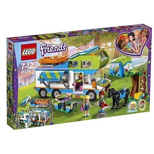 LEGO 41339 Friends Friends Friends Heartlake Miaâ ™s Camper Van Playset Mia and Stephanie Mini b85a25