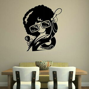 Retro Wall Stickers! 60s 70s 80s Art Decor Removable Vinyl Decal Transfer RA129