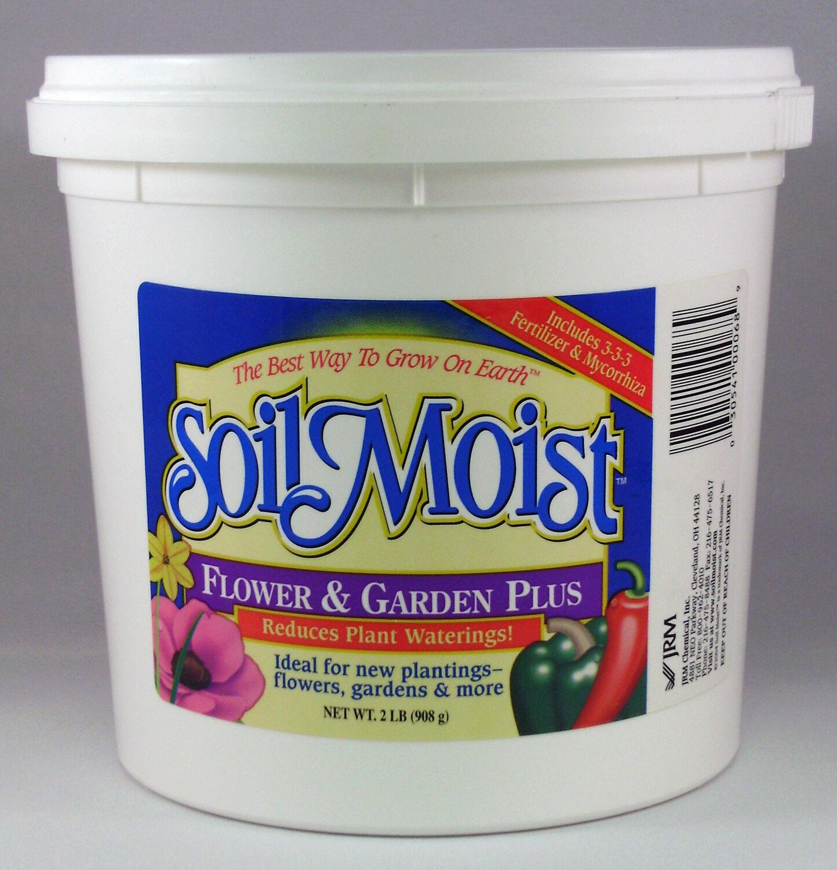 2lb SoilMoist Mycorrhizal FLOWER & GARDEN PLUS Hydrogel Potting Container Mix