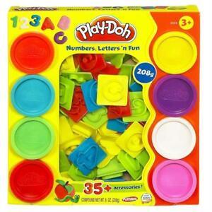 Hasbro-21018EU5-Play-Doh-Knetspass-mit-Zahlen-und-Buchstaben