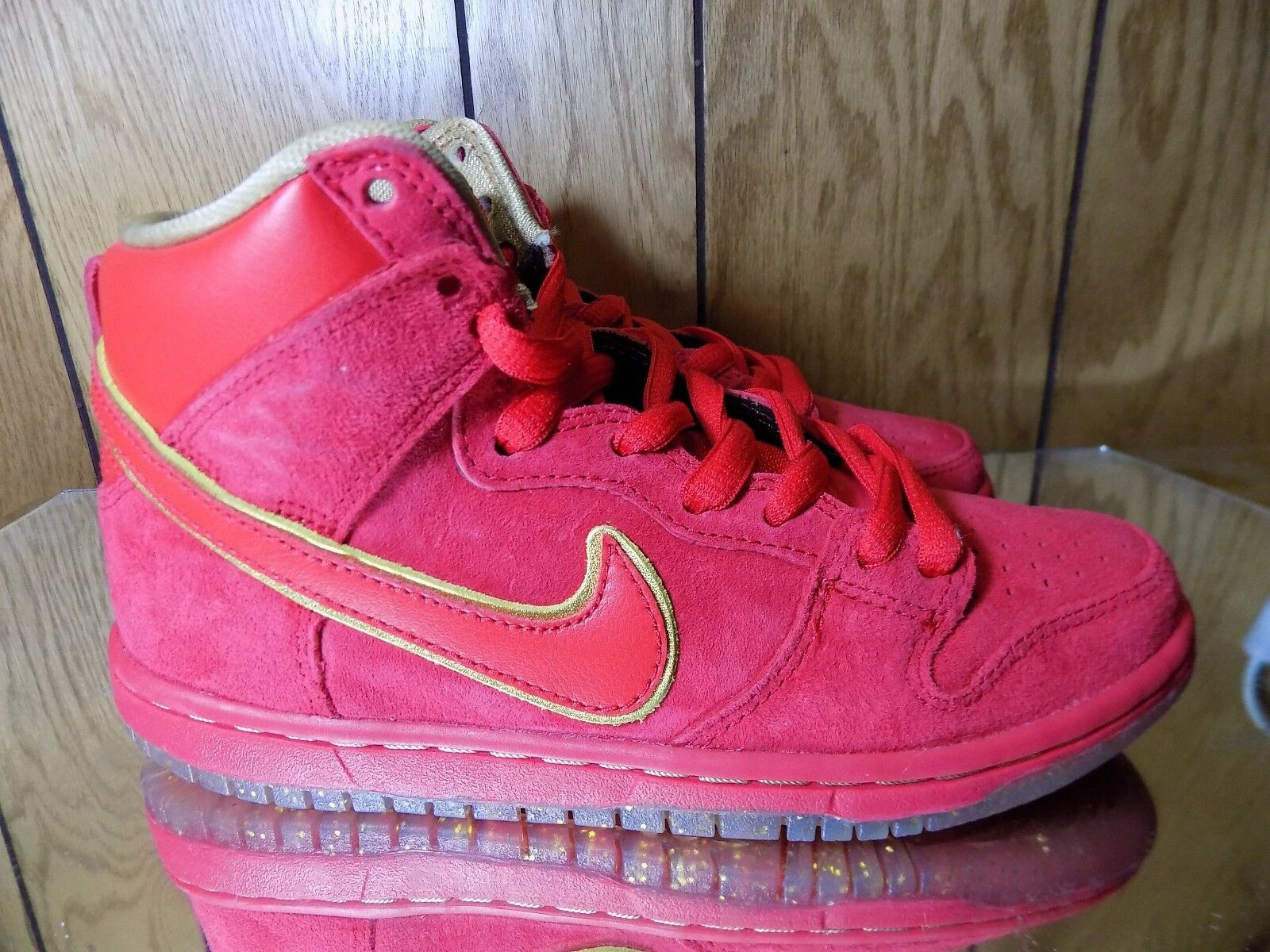 Nike Dunk High Premium SB CHINESE NEW YEAR CNY YEAR OF THE HORSE YOTH 8.5 The most popular shoes for men and women