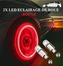 2x Ampoules Led Rouge De Valve De Roue Jantes Tuning Bmw,Audi,Vw,Ford,Opel,Fiat