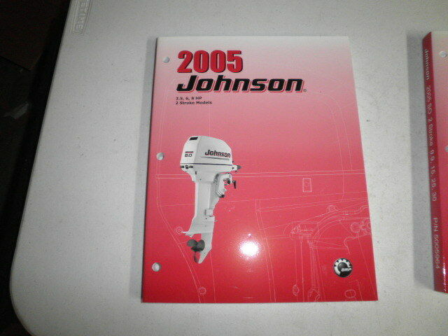 2005 Johnson Factory Outboard Motor Service Manual 3 5 6 8