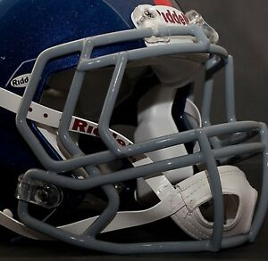 GRAY NEW YORK GIANTS Riddell Speed S2BD Football Helmet Facemask//Faceguard