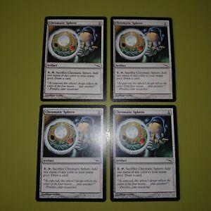 Chromatic-Sphere-x4-Mirrodin-4x-Playset-Magic-the-Gathering-MTG