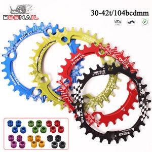 SNAIL-104mm-30-42-Chainring-MTB-Bike-Crankset-Fit-Shimano-SRAM-Crank-Chainwheel