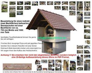 Bauanleitung-Holzbackofen-Steinbackofen-Pizzaofen