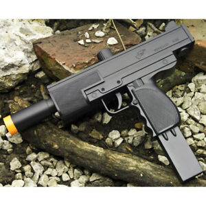 Details about DOUBLE EAGLE MAC 10 11 UZI HAND GUN SPRING AIRSOFT PISTOL  RIFLE w/ 6mm BBs BB