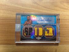 (2) 2010 UFC Knockout George St Pierre  Anderson Silva Triple Threads Auto 1/1