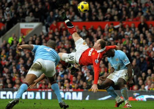 WAYNE ROONEY MAN UTD FOOTBALL SOCCER POSTER PICTURE PRINT Sizes A5 to A0 **NEW**
