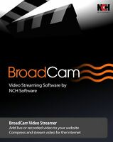 Broadcam Video Streaming Server , Broadcast Internet Video / Stream Video