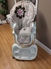 2a857a885d22 Baby Trend Deluxe 2 in 1 High Chair Diamond Wave for sale online