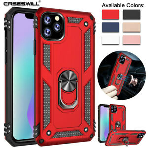 For-iPhone-11-Pro-X-XS-Max-XR-8-7-Plus-SE-2020-Heavy-Shockproof-Ring-Holder-Case