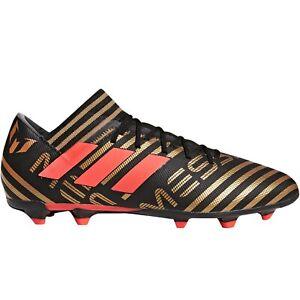 Adidas-Performance-Hommes-Nemisis-Messi-17-3-Sol-Ferme-Football-Bottes-Noir
