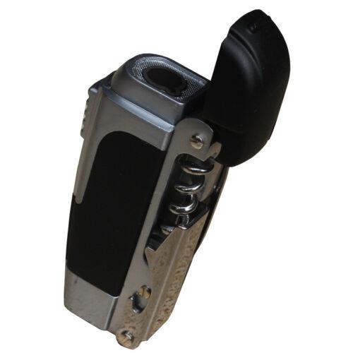 Fox Outdoor Funktions Gasfeuerzeug mit Messer Korkenzieher Flaschenöffner