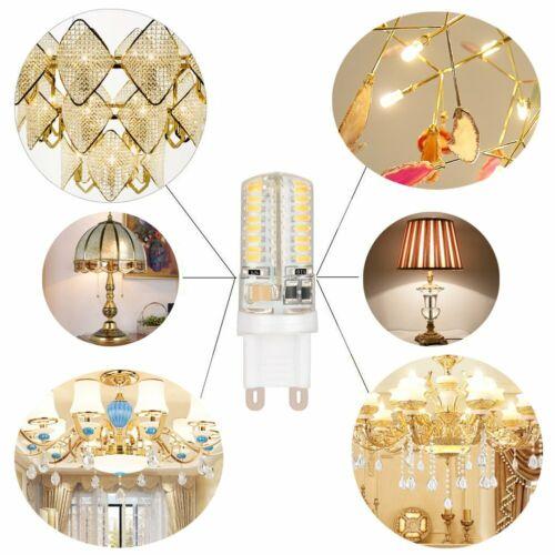 G4 G9 LED Halogenlampe 2W 3W 4W 5W 6W 8W 9W Stiftsockel Leuchtmittel 12V//220V