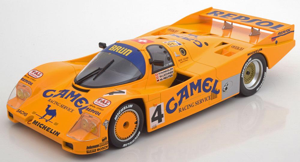 Norev 1988 Porsche 962 C 24h Le Mans w   Camel Decals LE 1000pcs 1 18 New