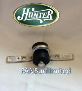 2 Pc Mounting Kit Rubber Bushing Pin Amp U Bracket Hunter Ceiling Fan Original Ebay