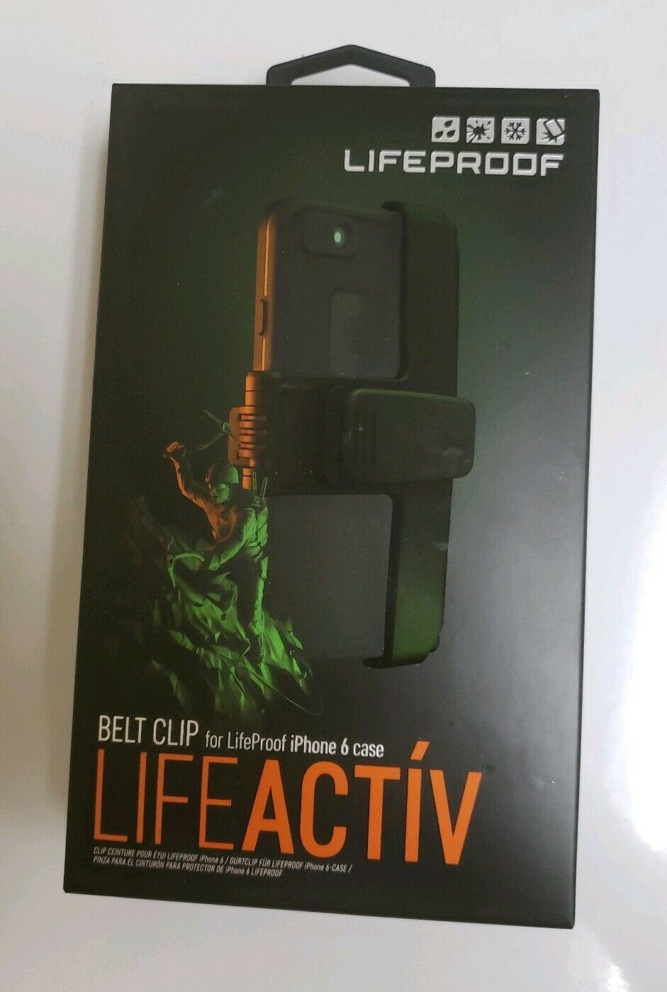 online store 5b606 0ff52 LifeProof Belt Clip LifeActiv for iPhone 6