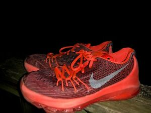 hot sales 393ae 1eec8 Details about NIKE KD Kevin Durant 8 VIII (GS) Bright Red Crimson White  Black 768867 5Y 5 👣b7
