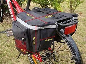 Double-Bicycle-Cycle-Pannier-Storage-Bag-Rear-Bike-Rack-Tail-Seat-Trunk-12L-2