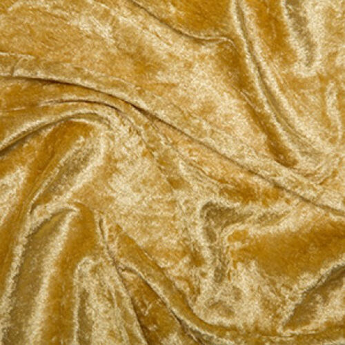 """wide 16 Colours Polyester Crushed Velvet Velour Fabric Material 59/"""" 150cm"""