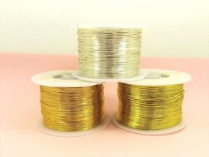 5-M-x-Tarnish-Resistant-COPPER-Brass-Artistic-Craft-Beading-WIRE-DIY-0-3MM-1MM