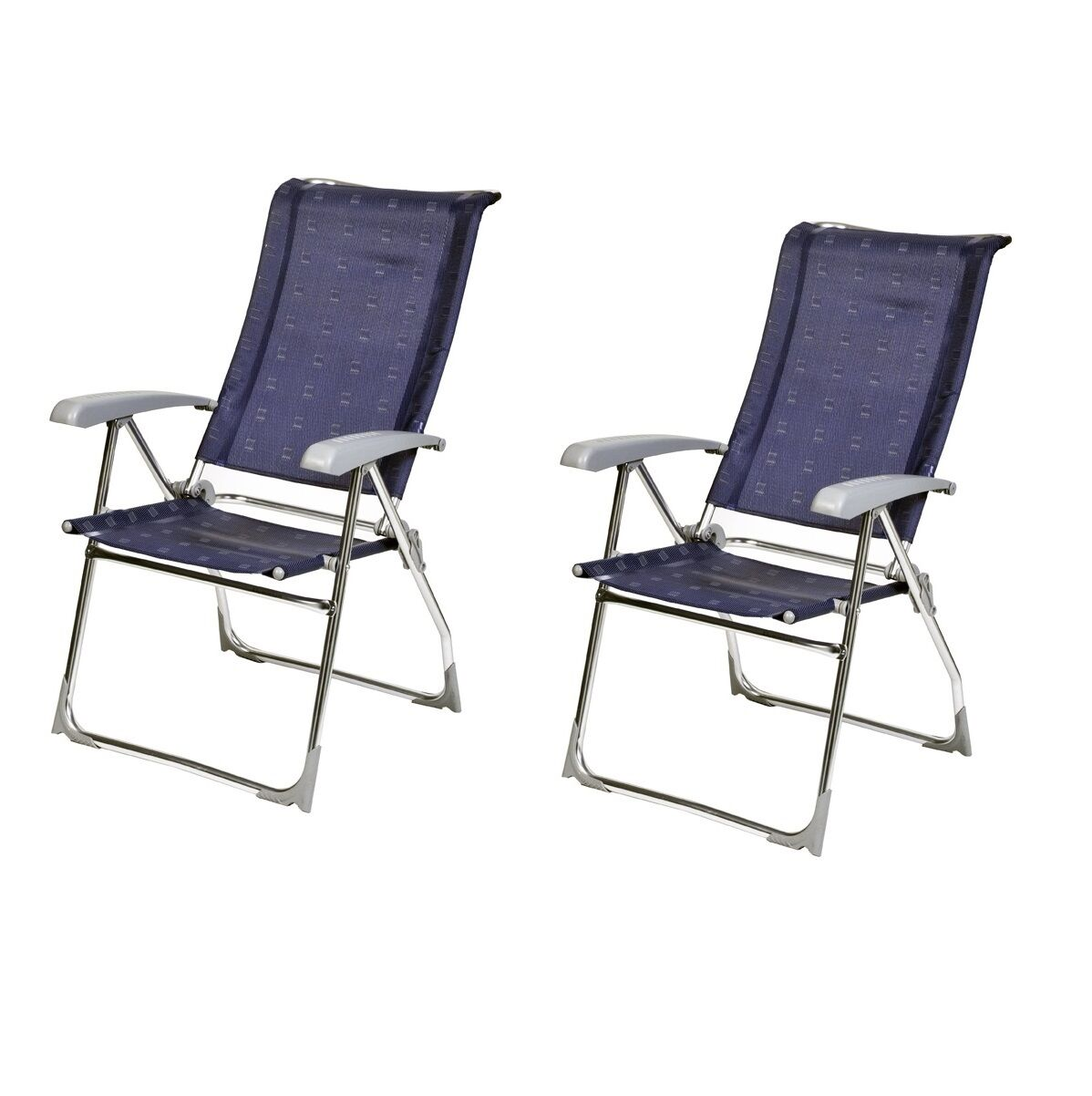 X2 Aspen (PAIR) Dukdalf Aspen X2 Reclining Caravan Chair Blau - 2018 Model - d5c733