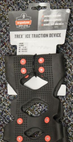 Ergodyne Work Gear Trex Ice Traction Device #6300 X-Large Free Shipping NEW