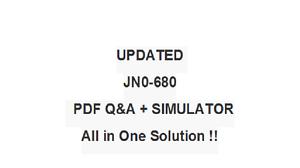 JUNIPER DATA CENTER PROFESSIONAL JN0-680  -  QA PDF&Simulator