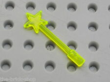 Baguette magique fee LEGO TrNeonGreen Minifig Magic Wand 6124 /Set 5808 5942 ...