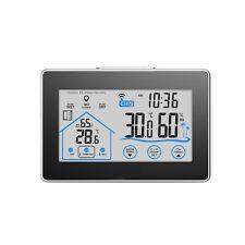 LCD Innen Außentemperatur Feuchtigkeit Drahtlose Messgerät Sensor Hygrometer NEU