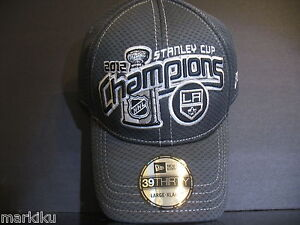 best cheap f7b05 0d6cf Image is loading New-era-NHL-2012-Stanley-Cup-Champions-Los-
