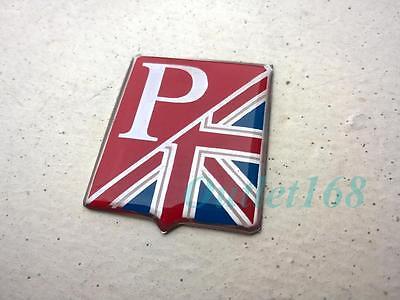 Stick On Badge Logo ZK455 GB Sticker Union Jack