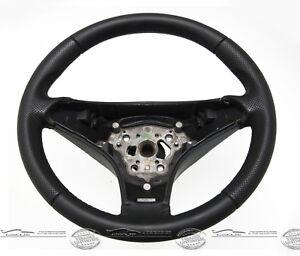 Coche-Volante-de-Cuero-Sport-Autentica-Piel-Nuevo-Convexo-para-Mercedes-Sl-R230
