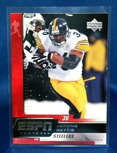 Pittsburgh Steelers 2005 Upper Deck Rookie Debut # 78 Mint Jerome Bettis Football Card