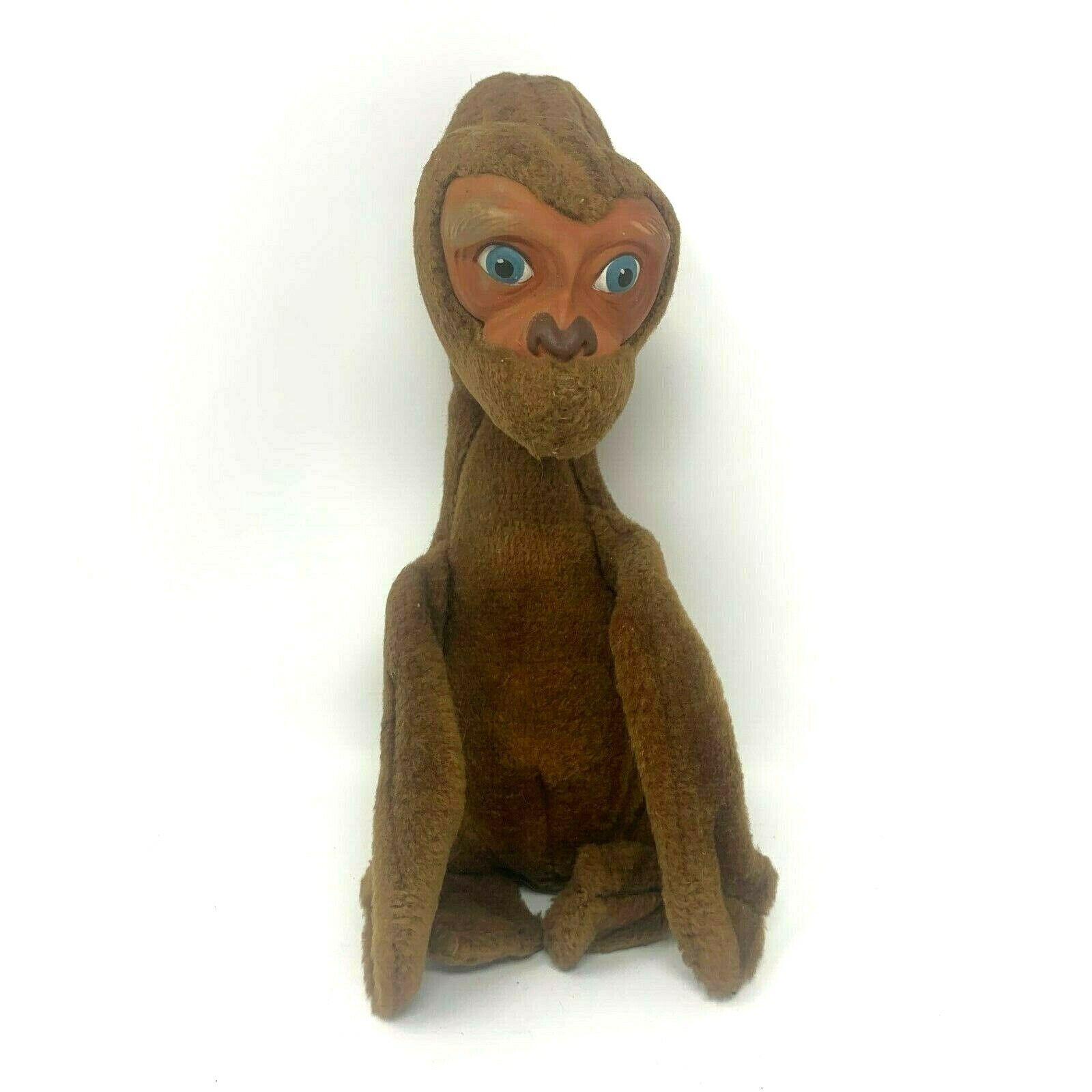 ET The Extra Terrestrial Vintage 1982 Rushton Plush RARE 14  Stuffed Animal Toy