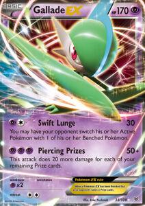 Gallade-EX-34-108-XY-Roaring-Skies-Holo-Ultra-Rare-Pokemon-Card-NEAR-MINT-TCG